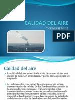 Calidada Del Aire en la ciudad de Mexico