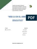 Trabajo  Web 2.0 en el ambito educativo