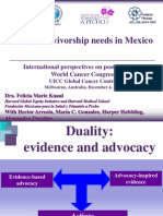 Cancer survivorship needs in Mexico