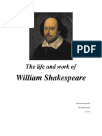The Life and Work of W Shakespeare