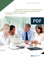 A 2013 OSPE Salary Survey