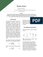 Informe 3 - Diodo Zener