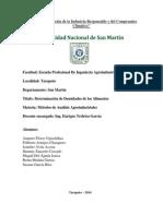 Practica n 3 de metodos de analisisi2013