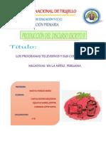 Artículo Sobre La Televisión Basura en El Peru (II CICLO ED. PRIMARIA) (1) (1) Corregido