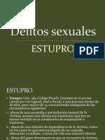 estupro en derecho chile