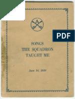 Army Artillery Songbook (1930)