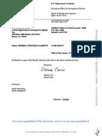 Francisco Alberto German, A045-320-817 (BIA Nov. 21, 2014)