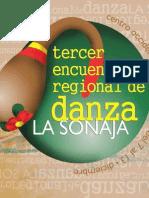 Programa General del 3er Encuentro Regional de Danza