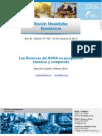 Las Reservas Del BCRA en Perspectiva Histórica