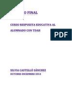 Trabajo Final TDAH curso INTEF 2014