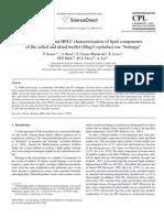 Characterization of Lipid Components