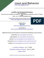 Environment and Behavior 2009 Gustafson 490 508