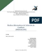 Que Leyes en Venezuela Contemplan Los Medios Alternativos de Solución de Conflicto