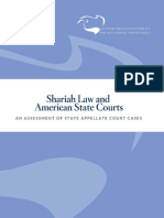 American Courts Acknowledging Sharia Law