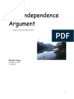 The Independence Argument