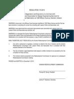 Goshen Redevelopment Commission Resolution 115-2014