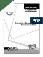 Retiro de Bienes - Tratamiento Tributario y Contable - Contadores y Empresas 2010
