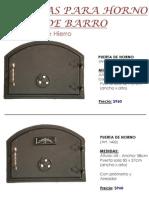 (a8) Puertas de Horno