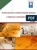 Etude DU Marché Financier Marocain 2014