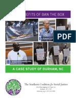 Ban the Box in Durham, NC