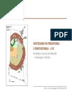 Notiziario archeologia-sicilia y Cerdeña