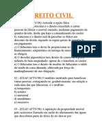 DIREITO CIVIL-70 Questões