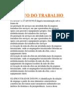 DIREITO DO TRABALHO-120 Questões