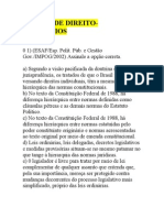 EXERCÍCIOS SOBRE NOÇÕES DE DIREITOc