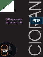 Cioran Emil- Silogismele amaraciunii.pdf