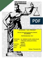 Universidad Alas Peruanas-Derecho(t.a Responsabilidad Civil-dra. Hermosa Calero Jessica Pilar) Ciclo Xii-Alumna Yrrazabal Bardales Patricia Maribel