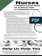 BMC Nurses Need Your Support