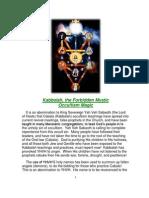 Message - Kabbala the Forbidden Mystic