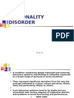 Personality Disorder Ppt