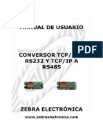 Manual Conversor Tcp
