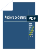 Clase de Auditoría de Sistemas