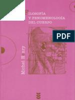 Filosofía y fenomenología del cuerpo