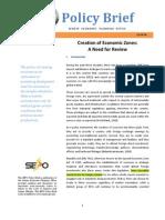 Policy Paper - Creation of Ecozones