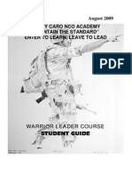 Warrior Leadership Course- Pldc Guide