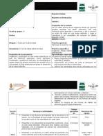 Planeación Español II. Secuencia 4