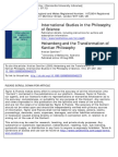 Heisenberg and the Transformation of Kantian Philosophy
