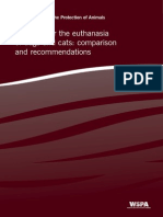 methods for the euthanasia of dogs and cats- english