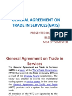General Agreement on Trade in Services