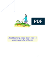 Dog Grooming Made Easy- How to Groom Your Dog at Home