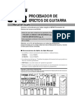 Boss GT 8 Manual Español