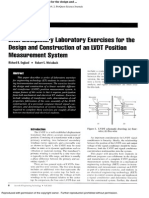 (8) Interdisciplinary Laboratory Exercises for the Design and Construction of an LVDT Position Measurement System