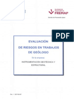 Evaluacion de Riesgos Trabajo de Geologo