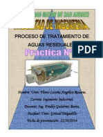Proceso de Tratamiento de Aguas Residuales Auxiliatura