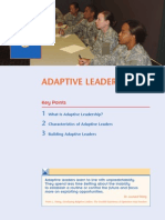 Army Adaptive Leadership