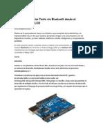 Proyecto de Enviar Texto Vía Bluetooth Desde El ANDROID a Un LCD