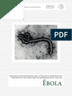 Lineamiento Del Ebola